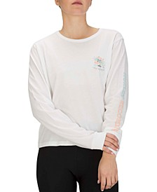 Cotton Logo Long-Sleeve T-Shirt