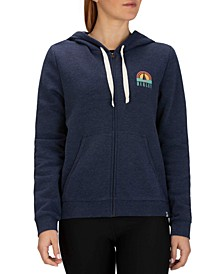Sail Away Logo Graphic Zip Hoodie