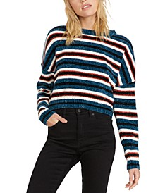 The Fav Striped Chenille Sweater