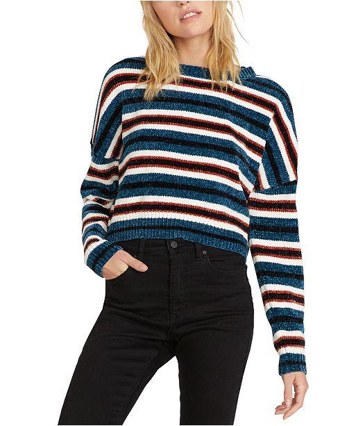 Volcom The Fav Striped Chenille Sweater