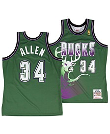 Men's Ray Allen Milwaukee Bucks Authentic Jersey