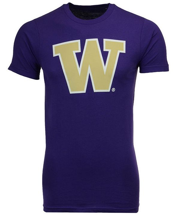 New Agenda Men's Washington Huskies Big Logo T-Shirt