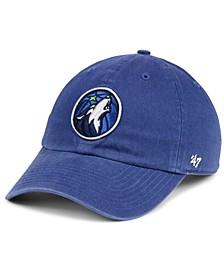 Minnesota Timberwolves CLEAN UP Strapback Cap