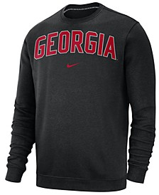 Men's Georgia Bulldogs Club Fleece Crewneck Sweatshirt