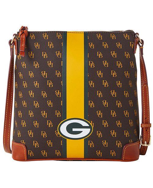 Dooney & Bourke Green Bay Packers Stadium Signature Zip Crossbody