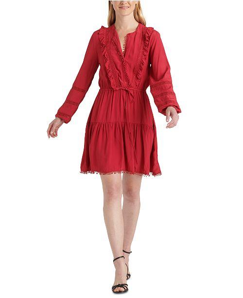 Lucky Brand Parker Ruffled Dress