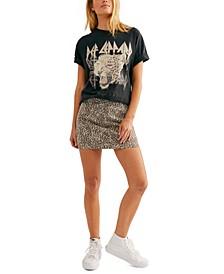 Modern Femme Leopard Mini Skirt