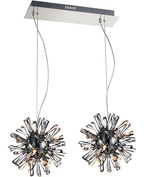 CWI Lighting CLOSEOUT! Flair 18 Light Chandelier