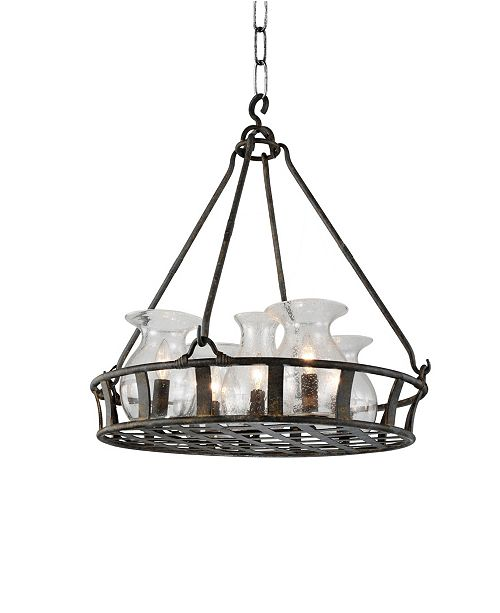 CWI Lighting CLOSEOUT! Imperial 6 Light Chandelier