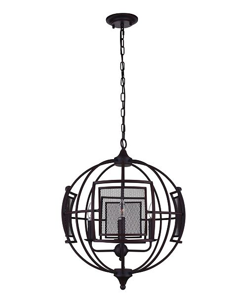 CWI Lighting CLOSEOUT! Alistaire 9 Light Chandelier