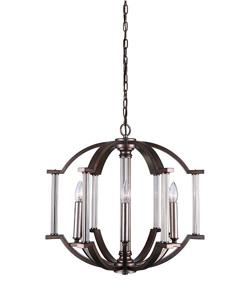 CWI Lighting CLOSEOUT! Marlia 6 Light Chandelier