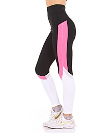 High-Rise Color blocked Leggings