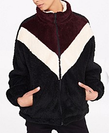 Marina Color Block Sherpa