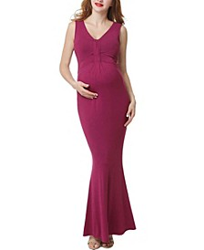 Edrei Maternity Mermaid Maxi Dress