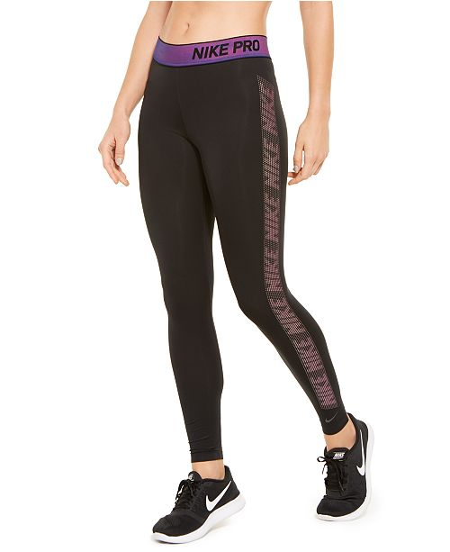 Nike Women's Pro Warm Logo Leggings