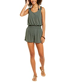 Breezy Basics Solid Romper Cover-Up, Created For Macy's