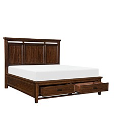 Caruth Panel Bed - King