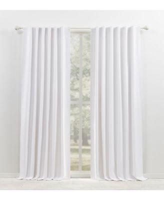 Waller Blackout Solid Tab/Rod Pocket Curtain Panel, 52