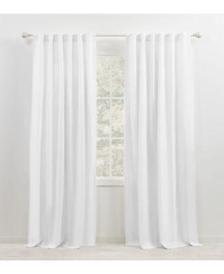 """Leanne Back Tab/Rod Pocket Curtain Panel, 50"""" x 108"""""""