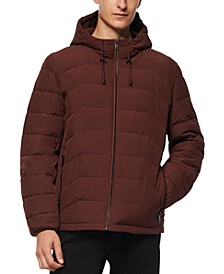 Men's Claxton Packable Down Hooded Jacket