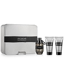 Viktor&Rolf Men's 3-Pc. Spicebomb Eau de Toilette Gift Set
