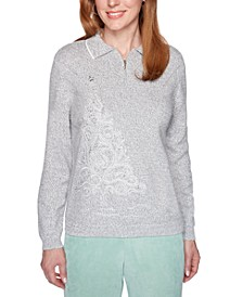 Lake Geneva Polo-Collar Sweater