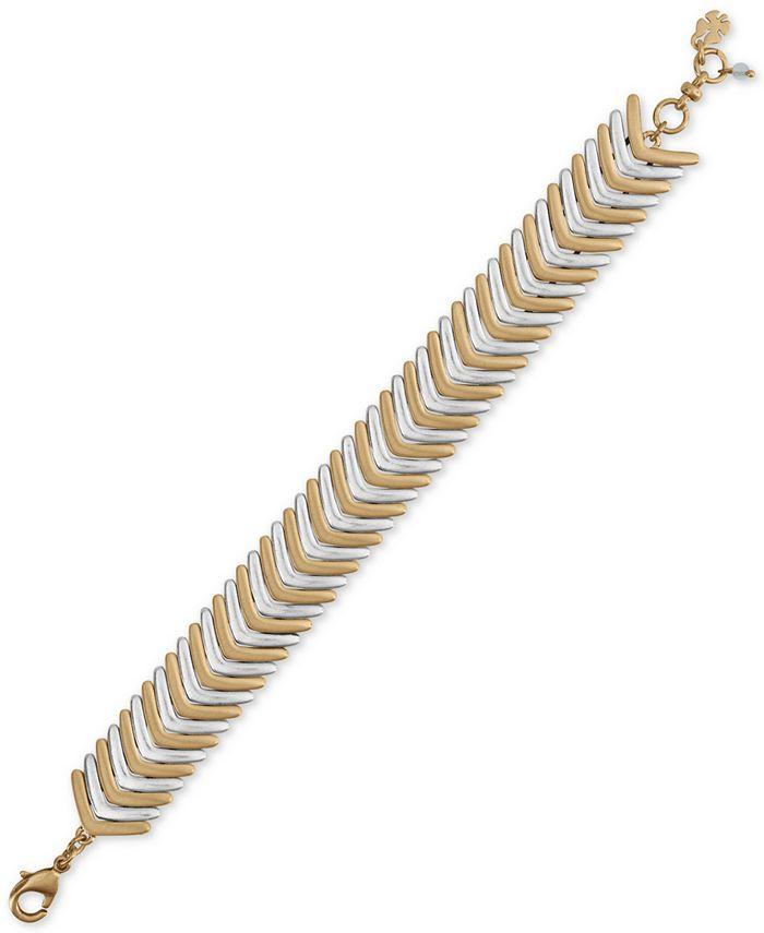 Lucky Brand - Two-Tone Arrow Link Bracelet