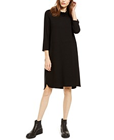 Cowlneck Shift Dress, Regular & Petite - Created for Macy's