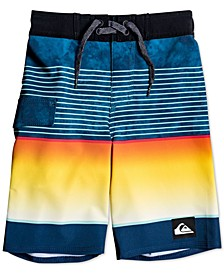 Toddler & Little Boys Highline Slab Swim Trunks
