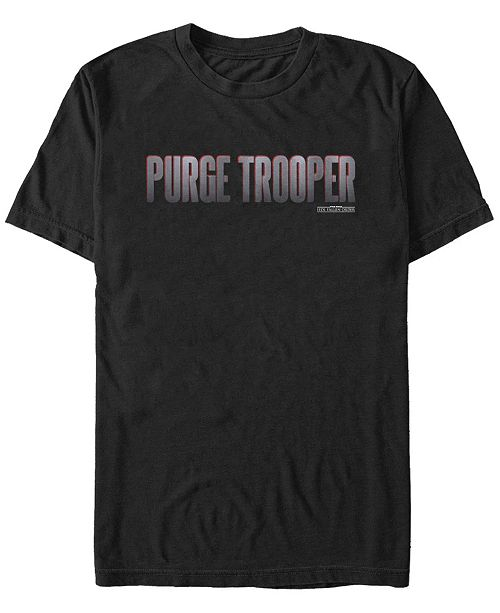 Star Wars Men's Jedi Fallen Order Purge Trooper Logo T-shirt