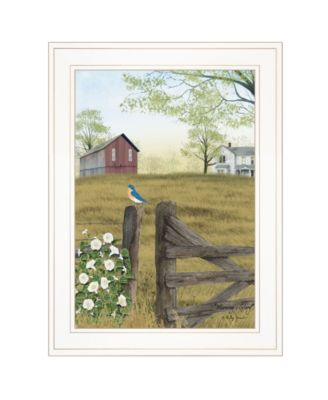 """Morning's Glory by Billy Jacobs, Ready to hang Framed Print, White Frame, 15"""" x 19"""""""