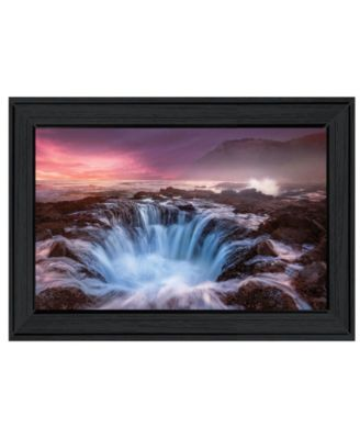 """Genesis by Moises Levy, Ready to hang Framed Print, Black Frame, 21"""" x 15"""""""