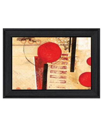 """Circular Abstract by Cloverfield Co, Ready to hang Framed Print, Black Frame, 19"""" x 15"""""""