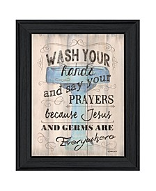 Trendy Decor 4U Bathroom Humor by Debbie DeWitt, Ready to hang Framed Print Collection