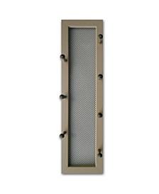 Trendy Decor 4U 7-Peg Mug Rack by Millwork Engineering, Taupe Frame Collection