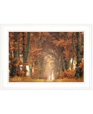 """Follow Your Own Way by Martin Podt, Ready to hang Framed Print, White Frame, 21"""" x 15"""""""