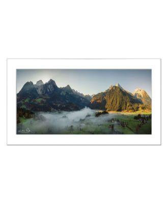 "The Blanket by Martin Podt, Ready to hang Framed print, White Frame, 21"" x 12"""