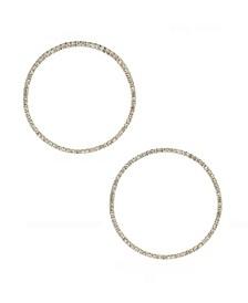 Perfect Crystal Hoop Earrings