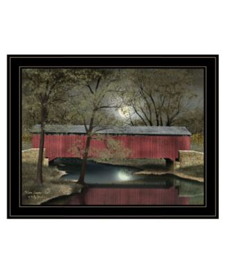 """Warm Summer's Eve by Billy Jacobs, Ready to hang Framed Print, Black Frame, 27"""" x 21"""""""