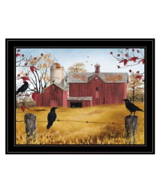 """Autumn Gold by Billy Jacobs, Ready to hang Framed Print, Black Frame, 27"""" x 21"""""""