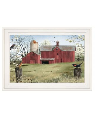 """Harbingers of Spring by Billy Jacobs, Ready to hang Framed Print, White Frame, 15"""" x 11"""""""