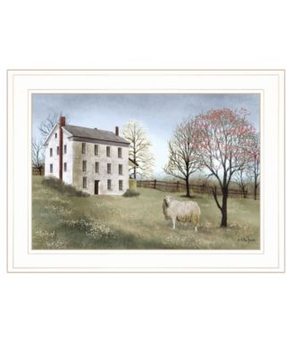 """Spring at White House Farm by Billy Jacobs, Ready to hang Framed Print, White Frame, 21"""" x 15"""""""