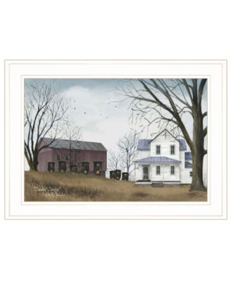 """Sunday Service by Billy Jacobs, Ready to hang Framed Print, White Frame, 21"""" x 15"""""""