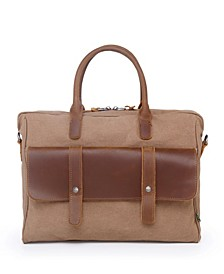 Women's Computer Canvas Briefcase