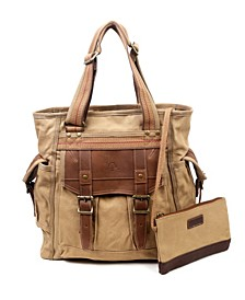 Women's Turtle Ridge Canvas Tote Bag