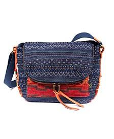 Tribal Secret Canvas Crossbody Bag