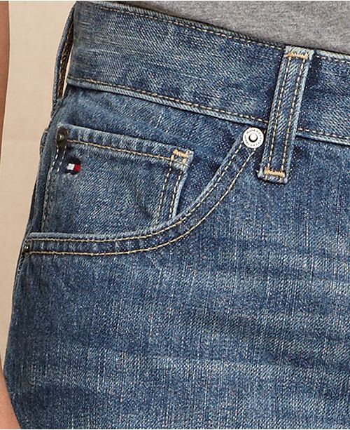 c3c8f564 ... Tommy Hilfiger Men's Core Jeans, Created for Macy's , Varsity Freedom  Relaxed Fit Jeans, ...