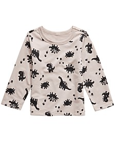 Baby Boys Dinosaur-Print T-Shirt, Created For Macy's