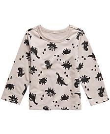 Toddler Boys Dinosaur-Print T-Shirt, Created For Macy's
