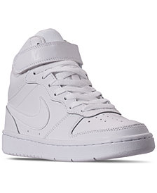 Nike Big Kids Court Borough Mid 2 Casual Sneakers from Finish Line